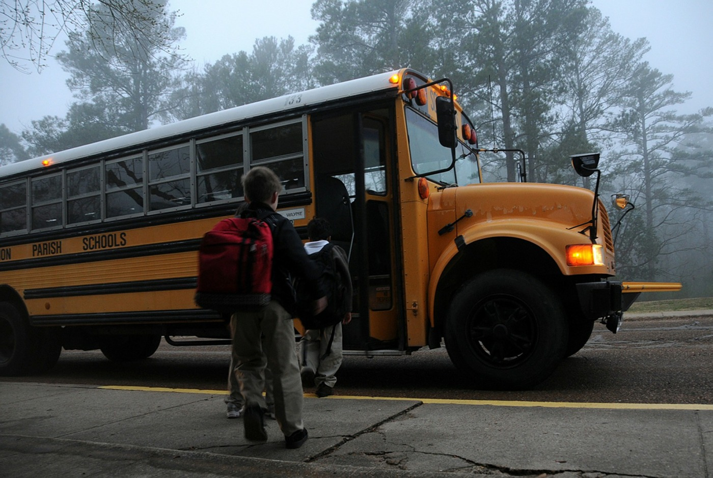 School - Children - Bus - Security - Parenting