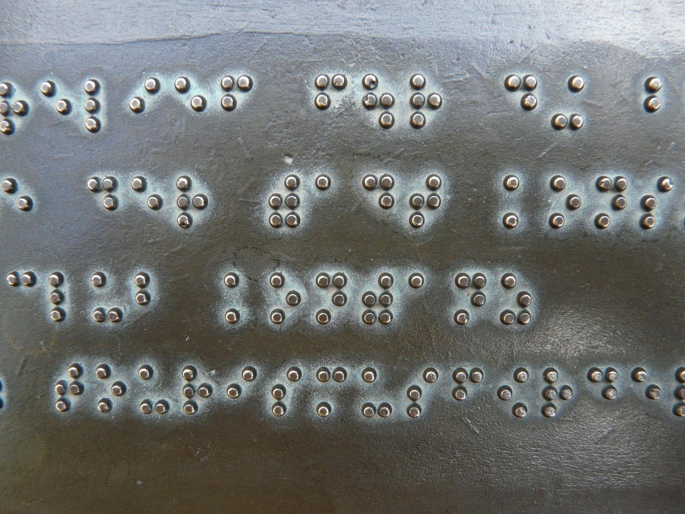 Brail - Blindness
